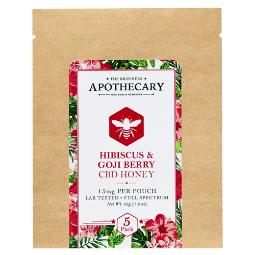 Hibiscus Goji Back CBD Honey by The Brothers Apothecary