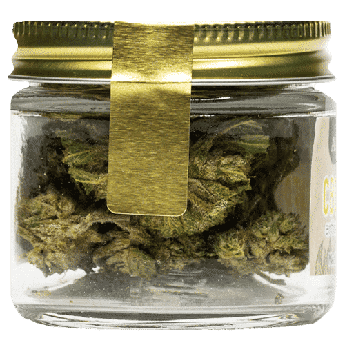 CBG Flower Smoking Bud - Back