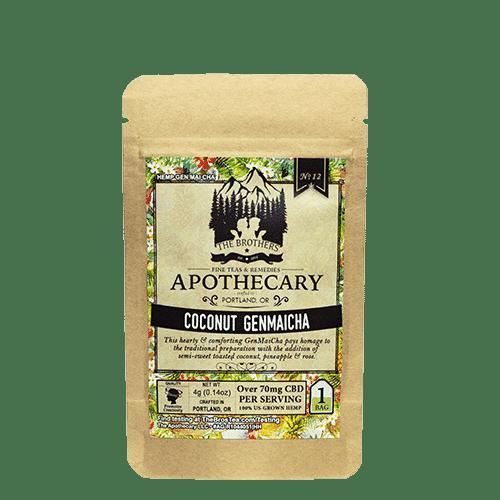 Coconut Genmaicha CBD Tea Single Bag
