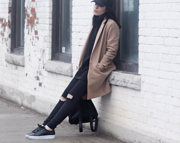 camel-coat-leather-sneakers-streetstyle