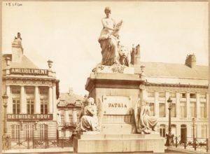 Place des Martyrs - The Brussels Brontë Group