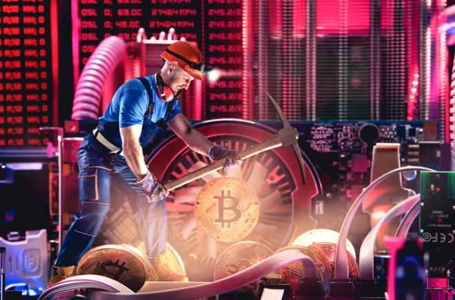 Como es el proceso de mineria Bitcoin