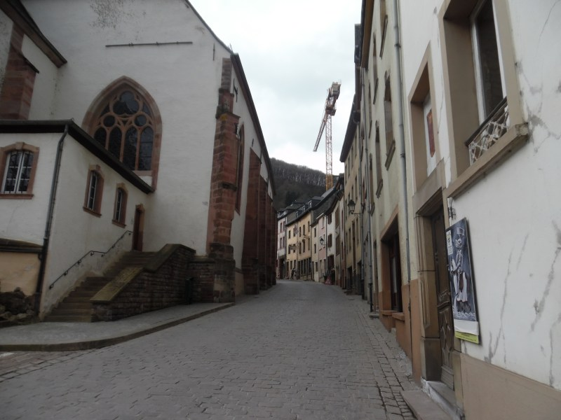 The spiraling streets of Vianden. Worth the walk!