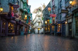 wizarding world at universal studios