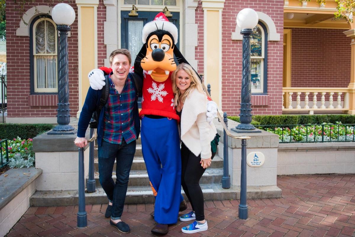 Christmas at Disneyland - Characters