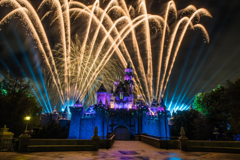 Christmas at Disneyland - Fireworks