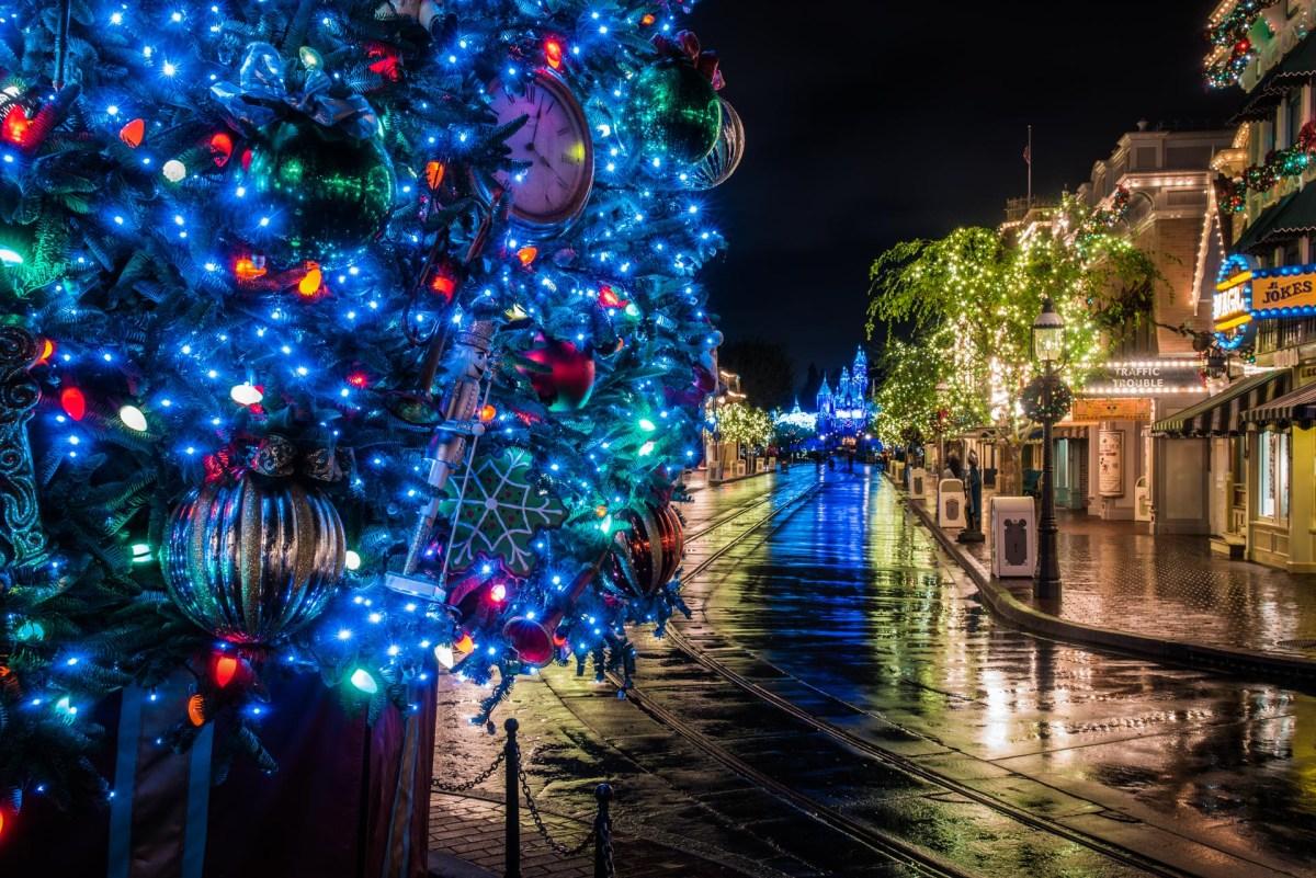 Christmas at Disneyland - Main Street