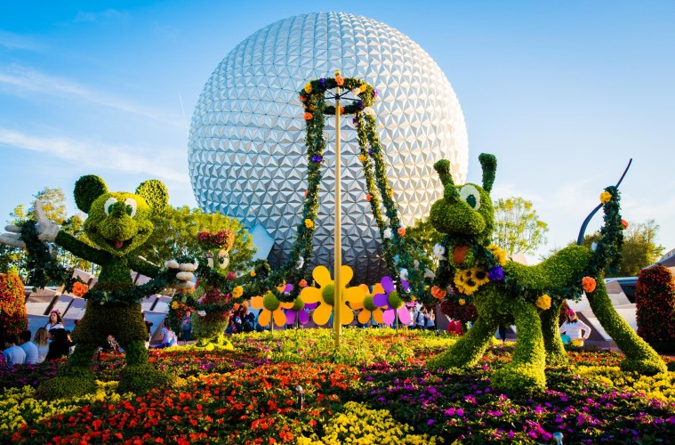 Image result for epcot flower and garden festival 2017