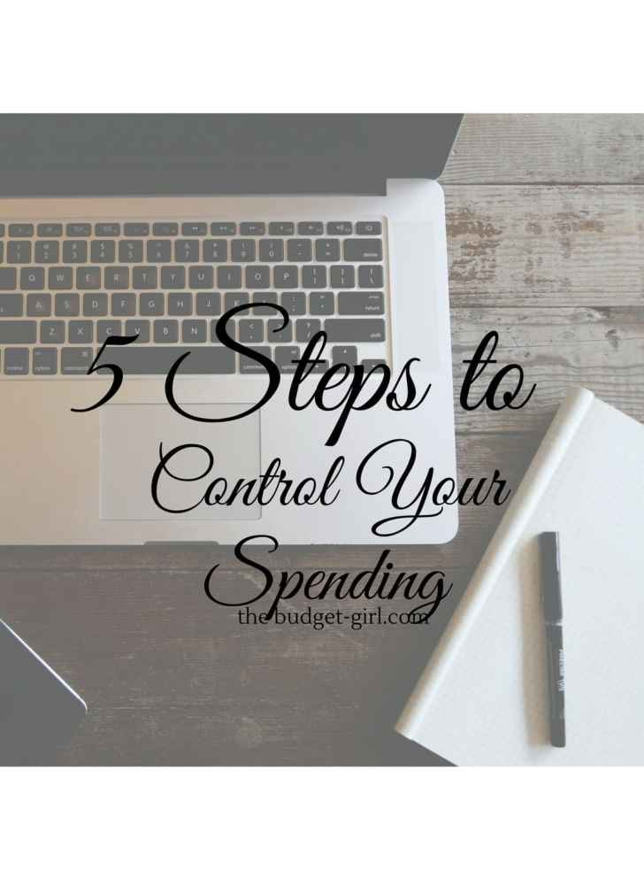 5 Steps to Control Your Spending!