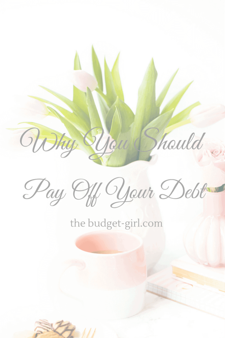 Why You Should Start Paying Off Your Debt