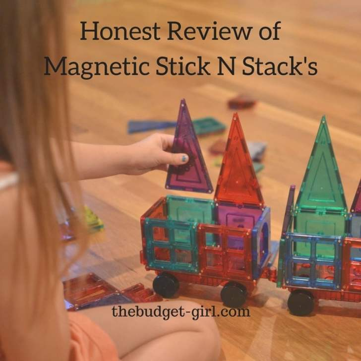 An Honest Review of Shape Mags Magnetic Stick N Stack's