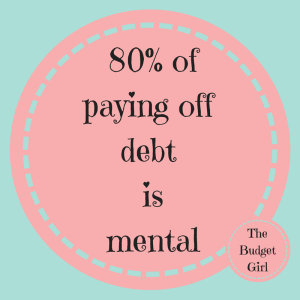 paying off debt