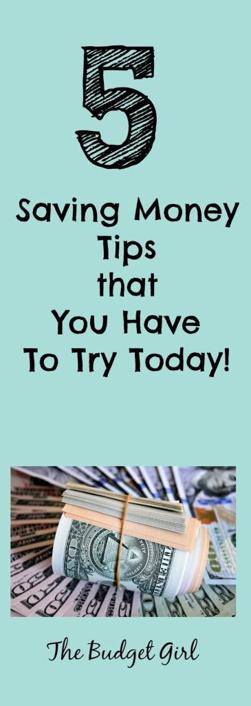 saving money tips you have to try today