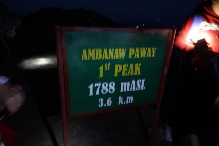 Ambanaw Peak