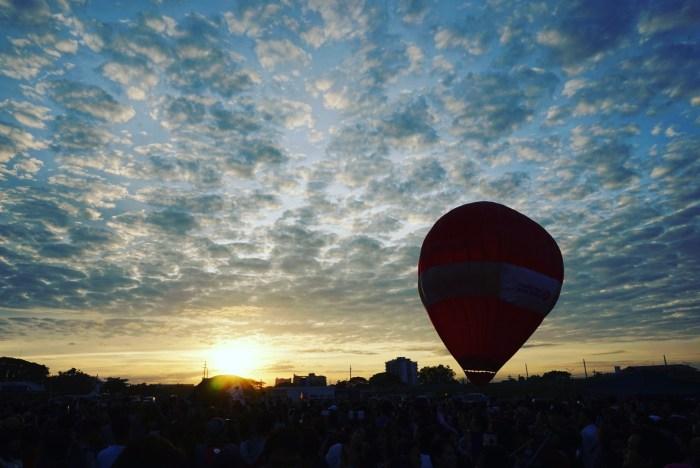 Hot Air Balloon in Clark