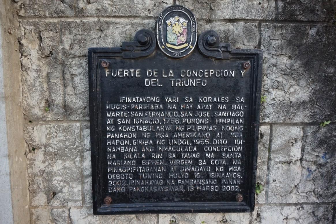 Fort Santiago, Cotta Fort
