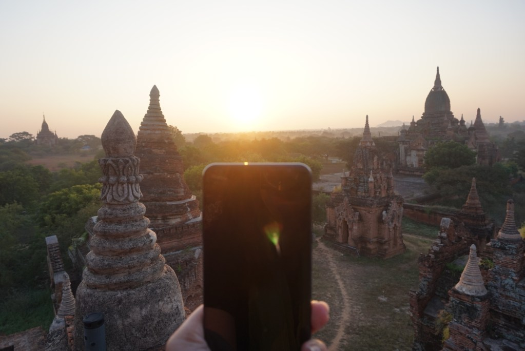 Bagan Sunset and Sunrise