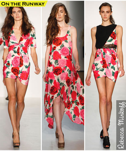Spring Fashion Trends 2010 Rose Prints The Budget Babe