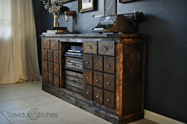 Repurposed Furniture Thrift Store Dresser Makeover Ideas