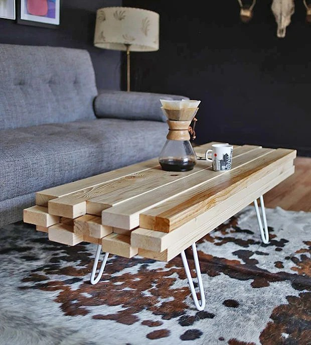 DIY Cool Coffee Table Ideas Amp Projects The Budget Decorator