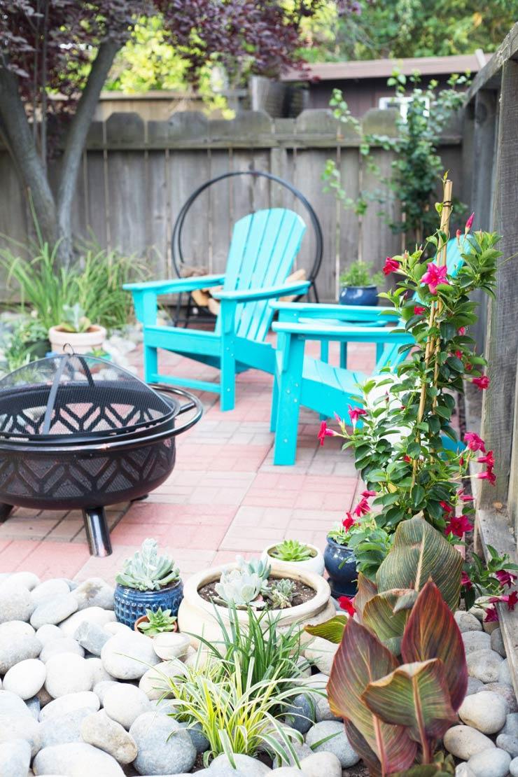 backyard ideas on a budget spruce up