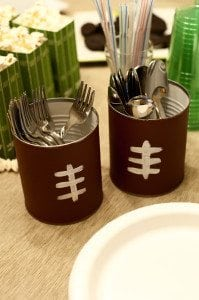 super bowl diy decor
