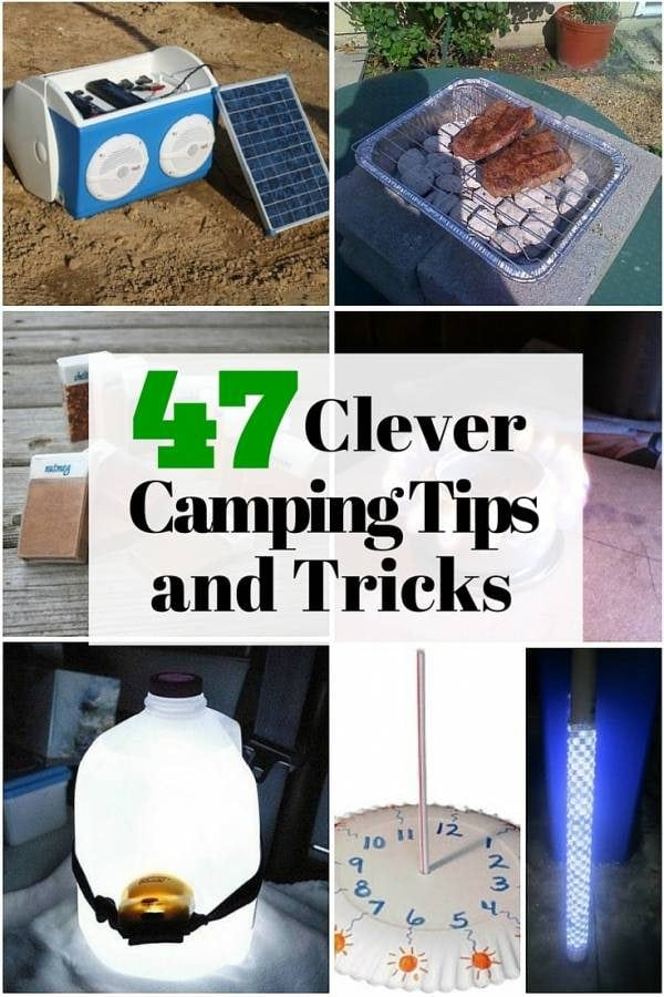 47 Clever Camping Tips And Tricks The Budget Diet