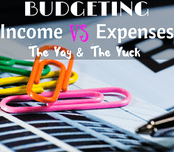 Budgeting: Income VS Expenses Feature Image