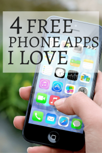 4 Free Phone Apps That I Love Pinterest Image