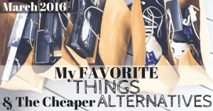My Favorite Things & The Cheaper Alternatives Facebook