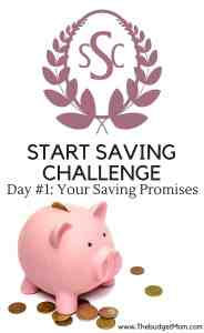 save,saving,money,challenge,start saving,plan,goals,promises