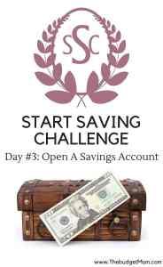 saving,save,savings account, start saving challenge,day 2,money,finance