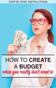This is a step by step guide on how to create a simple budget using the calendar method. Let's face it, creating a budget isn't exactly how a lot of us want to spend our time. It doesn't have to be complicated. If you feel overwhelmed make sure to read this super simple step by step tutorial.