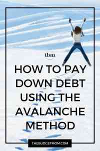Pay your debt off in the shortest amount of time with the debt avalanche method. Click to read how it can also save you the most money on interest!