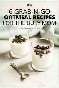 We all know breakfast is the most important meal of the day. Discover how to finally start making breakfast a part of your morning routine with these 6 grab-n-go oatmeal recipes.
