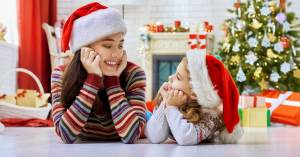 Gift giving, average number of, presents per child, gift rule, how much do you spend on each child, budget, christmas list, gift buying