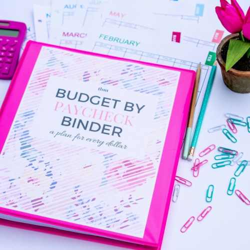 Budget-by-Paycheck Binder Printables