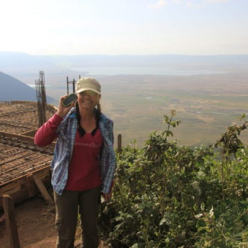 This was an Earthcache at the top of Ngorongoro Crater, Tanzania