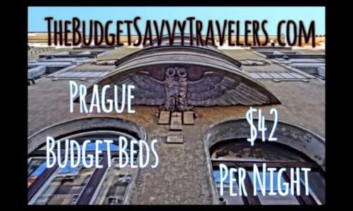 Our Prague Pad – Budget Beds