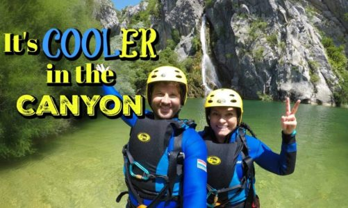 Best Canyoning Trip in Croatia – It's Cooler in the Canyon