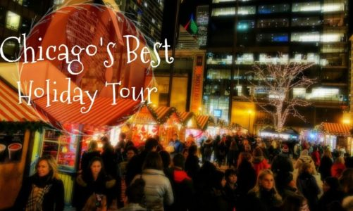 Best Place to Celebrate the Holidays in Chicago | Holiday Lights Tour