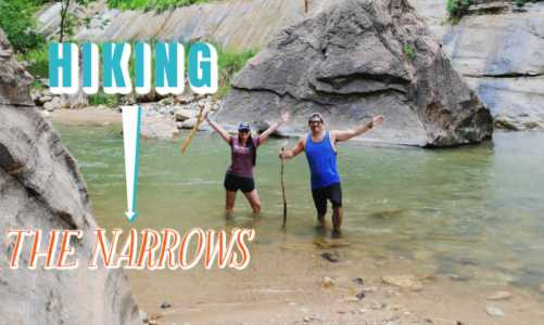 3 Easy Options For Hiking The Narrows Zion National Park | Thrilling Walk!