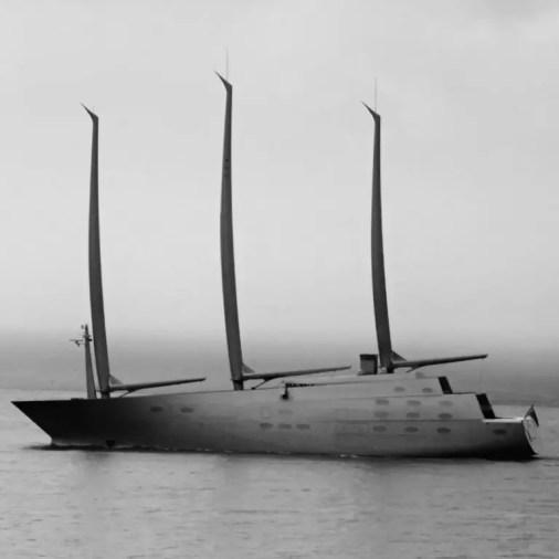 Sailing Yacht A Saranda Albania