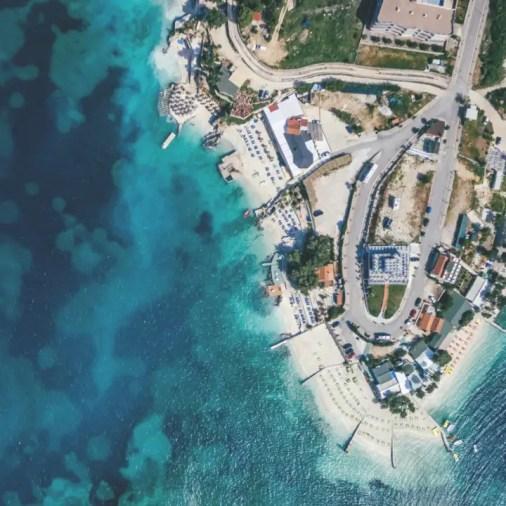 Beaches of Ksamil