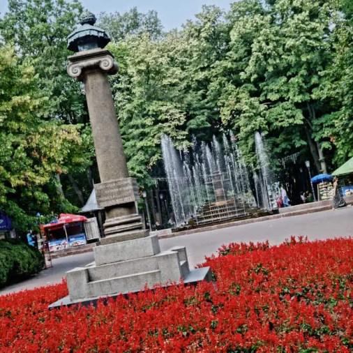 Chisinau Moldova Alexander Pushkin Statue