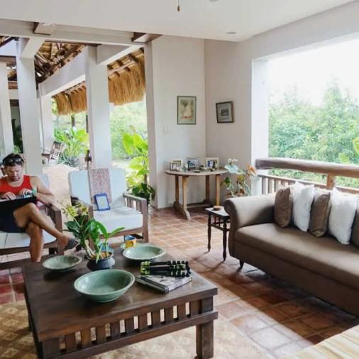 Pangloa and Bohol Island La Casita de Baclayon lounge