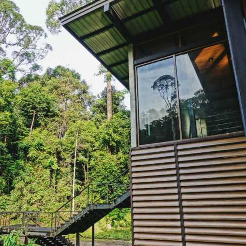 exploring borneo island premium villa reflection