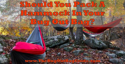 bug-out hammock