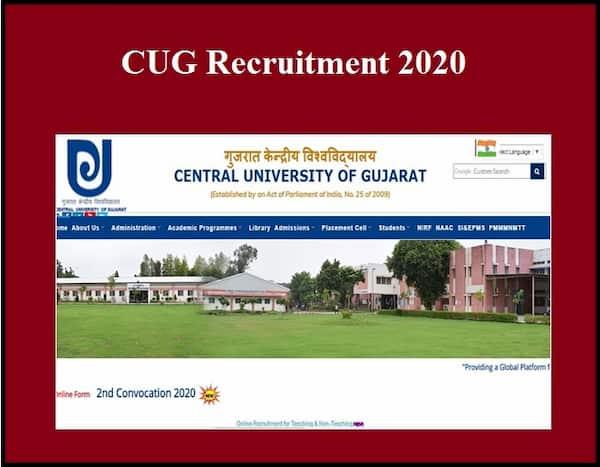 CUG Recruitment 2020