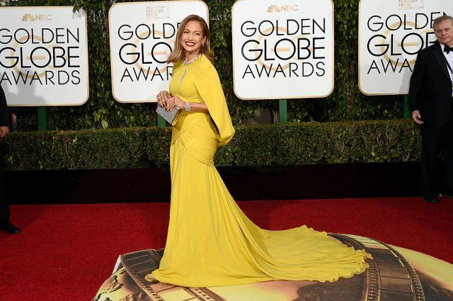 Jennifer Lopez at the Golden Globe Awards on Jan. 10, 2016